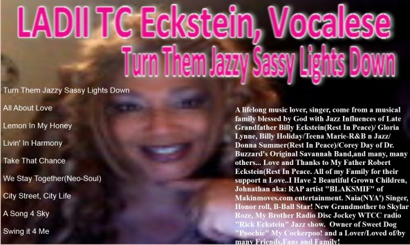 TC ECKSTEIN, VOCALESE CD